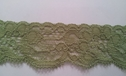 1Y Sage Scalloped Stretch Lace Trim 1 1/4 W S-8-2