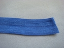 200 Yards Cerulean Blue Fold Over Elastic Trim Roll  5/8 W