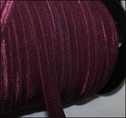 200Y Dark Burgundy Fold Over Elastic 5/8 W