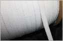 288Y Roll of White knit Picot Elastic Trim 7/16 W