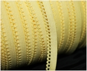 wholesale 288Y Roll Pineapple Yellow Picot Elastic Trim 7/16 W
