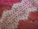 2 yards 30 inch Pure White Stretch Eyelash Lace Trim 3 3/4 W