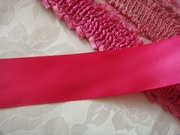 50 Yard roll Fuchsia satin wide ribbon 1 1/2 W