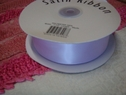 50 Yard roll lilac satin wide ribbon 1 1/2 inch wide