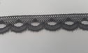 Black Scalloped Lace trim  7/8  Trim L1-4