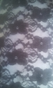 Charcoal 4 ways stretch  floral lace fabric 57-58