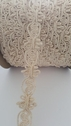 Gimp Natural Braided Cotton Upholstery Trim 1 1/8 inch