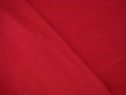 Hot red French trerry cloth fabric