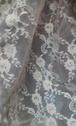 Ivory 4 ways stretch floral lace fabric 62 inch wide