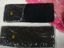 LOT 2 HEADBAND STRETCH Black Terry Cloth  Spa Free Shipping