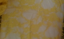 Neon Stretch 4 way Yellow lace fabric 59 inch wide