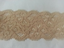 Nude Stretch lace floral trim1 3/4 S4-7