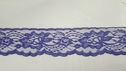 Purple Scalloped Floral Lace Trim  2 1/2  W