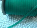 roll 144 yards of  emerald green knitted elastic 3/8 inch wide