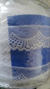 Wholesale Black or White Poly Scalloped Lace Trim 1 3/4 in L 4-1