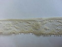 wholesale narrow edge beige soft scalloped lace trim 3/4 L2-6