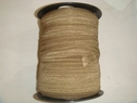 Wholesale roll 200 yards Dark Khaki elastic fold over FOE 5/8