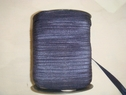 Wholesale roll 200 yds Midnight Blue elastic fold over FOE 5/8