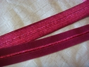 wholesale roll 275 yards raspberry fold over elastic FOE11/16 inch wide