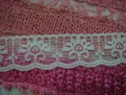 Wholesale Roll 400 yards pale green double scalloped floral Lace Trim 1 1/16 inch wide