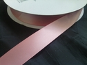 wholesale roll of 100 yards baby pink polyester satin ribbon 7/8 inch
