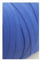 wholesale roll of 100 yards of cobalt fold over elastic trim 5/8 inches wide.