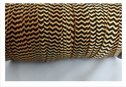 wholesale roll of 100 yards of gold and black fold over elastic 5/8 inches wide.