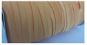 wholesale roll of 100 yards mustard fold over elastic trim 5/8 inch wide.