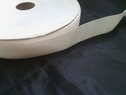 wholesale roll of 100 yards of ivory polyester satin ribbon 7/8inch