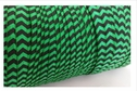 wholesale roll of 100 yards of this emerald with black fold over elastic trim 5./8 inch wide.