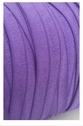 wholesale roll of 100 yards regal purple fold over elastic trim 5/8 inch wide.