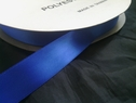 wholesale roll of 100 yards royal blue polyester satin ribbon 7/8inch