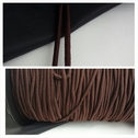 wholesale roll of 200 yards of brown bungee sewing jewelry elastic cord 3 mm wide.