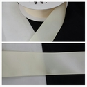 wholesale roll of 50 yard ivory satin ribbon trim 1 1/2 inches wide.