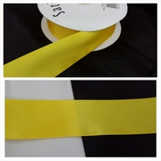 wholesale roll of 50 yards of this yellow satin ribbon trim 1 1/2 inch wide.