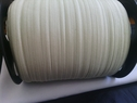 wholesale rool of 200 yards of pale sage green fold over elastic 5/8 inches