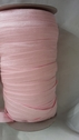 Wholesale 100 yards soft baby pink foe fold over elastic 5/8