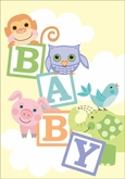 BA9606 - Baby Cards