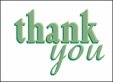 BL160 - Thank You Note Cards