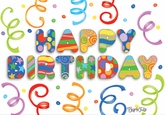 BU123V - Birthday Cards