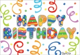 BU126C - Birthday Cards