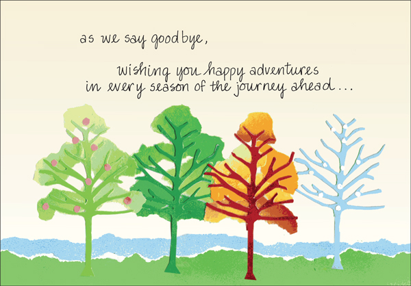 order retirement goodbye cards today it takes two inc sku g459
