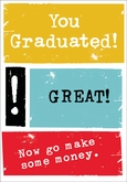 GU424 - Congrats/Graduation Cards
