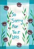 P5423 - Pet Loss Cards
