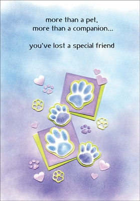 PH458 - Pet Loss Cards