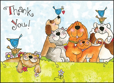 UBL04 - Thank You Note Cards