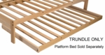 Rolling Trundle Bed