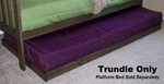 Trundle Only (Rustic Walnut)