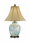 Divers Delight Porcelain Lamp