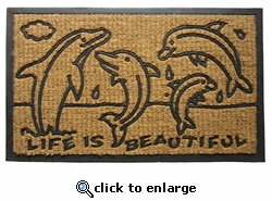 Dolphin Family Doormat